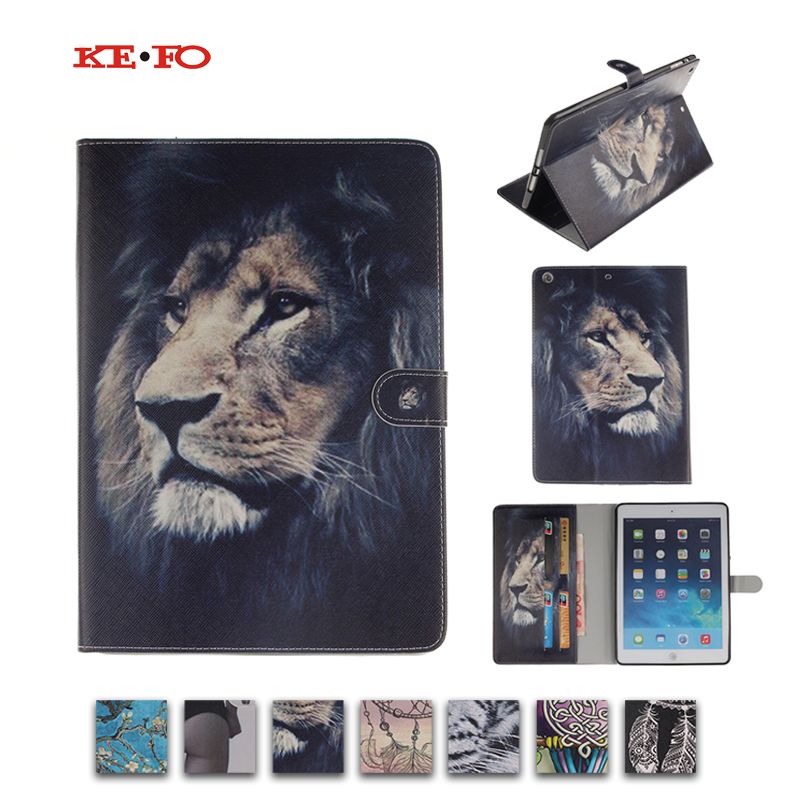 For Apple Ipad Mini 1 2 3 Fashion Luxury Flip PU Leather case cover For iPad Mini 2 mini3 For ipad mini Cover with Animal Prints