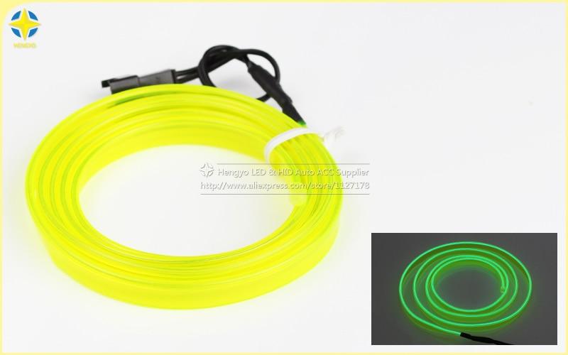 1m / 3m / 5M 3V Neon Dritë fleksibël Neoni Dritë Elb EL Shirita - Dritat e makinave - Foto 5