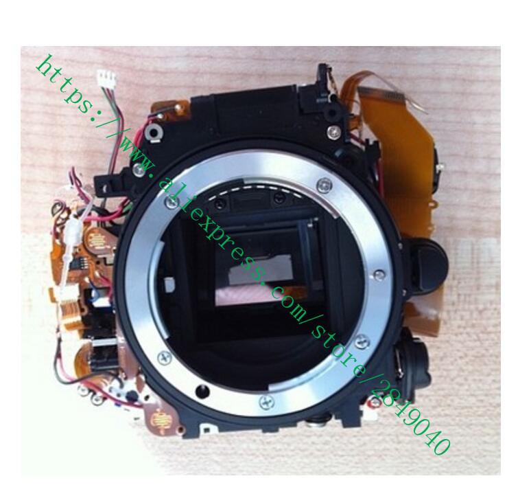 95% Original FOR Nikon D7000 Mirror Box Assembly Unit Replacement + Shutter + Motor Camera 100%new original d7000 camera shutter unit for nikon d7000 slr camera repair part 1f999 574