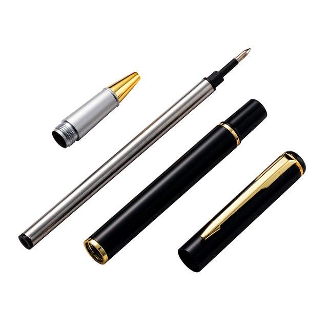 1pcs new metal ball pen signature pen gel pen school supplies office gifts business pen 4