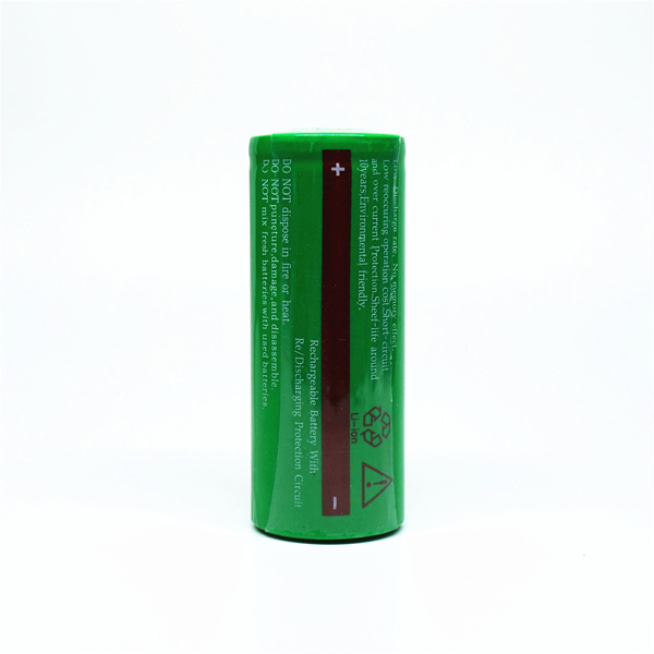 2Pcs TagsFire Rechargeable 26650 5500mAh 3 7V Li ion Battery for Torch in Rechargeable Batteries from Consumer Electronics