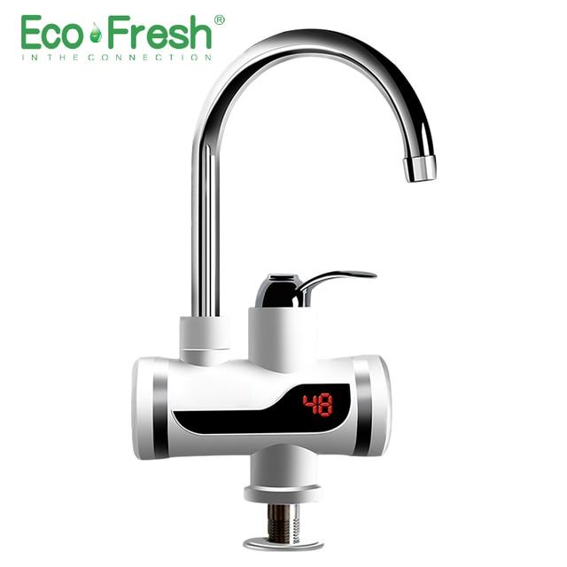 Ecofresh חשמלי ברז מים מיידית ברז ברז דוד קר חימום ברז Tankless מיידי מים דוד