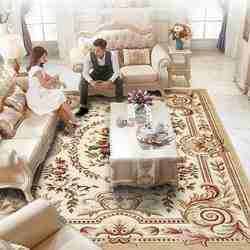 Alfombras modernas de Europa para sala de estar alfombras suaves y alfombras para dormitorio decoración del hogar mesa de centro/Alfombra de sofá área de Estudio alfombra