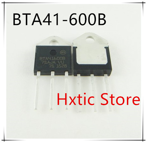 5pcs/lot BTA41-600B BTA41600B BTA41 BTA41-600B Triacs 40 Amp 600 Volt TO-3P New Original