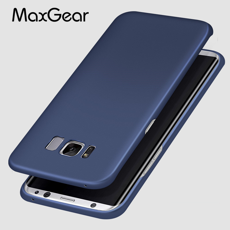 MaxGear For Samsung S8 Case Cover for Samsung Galaxy S8 plus Case Hard PC back Cover for S8 + Capa Coque Funda Accessories Shell
