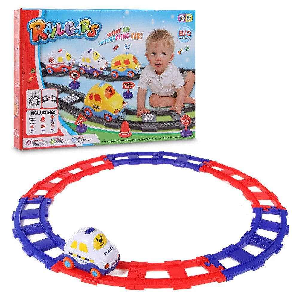 Track Rail DIY Car Kids
