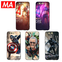 MA Marvel Avenger Superhero Phone Case For Huawei P20 P10 P9 Lite Pro Cases Ultra-thin TPU Cover For Honor 8 9 10 Lite Mate10 20