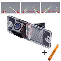 CCD Track Camera Car Directive Parking Assistance Reversing Trajectory For Sony CCD Mitsubishi Pajero V3 V6