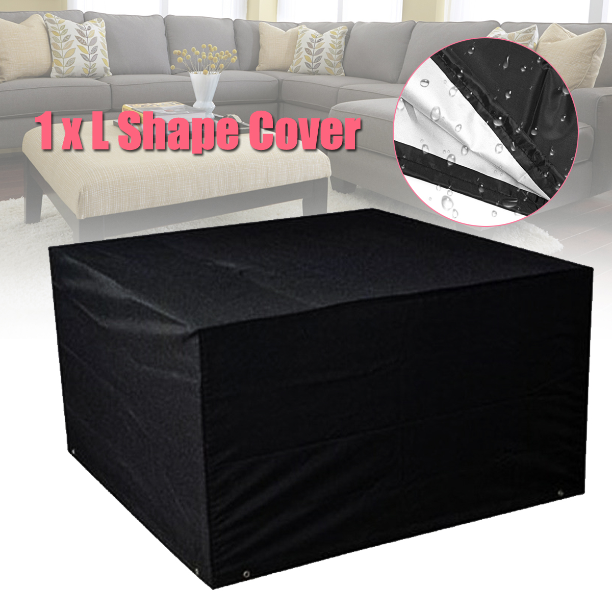 L Shape Dust Cover For Outdoor Garden
