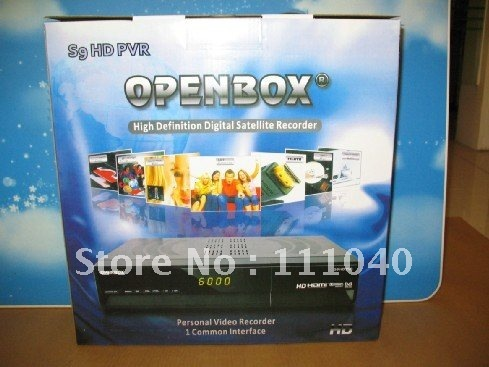 OPENBOX S9 HD PVR Digital Satellite Receiver, OPEN BOX S9 HD PVR latest version sharing cccamd newcamd FREE SHIPPING!