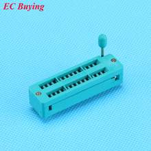 1 PCS 28 Pinos DIP Soquete IC Universal 2.54mm ZIP Estreito Tomada Teste 28 P