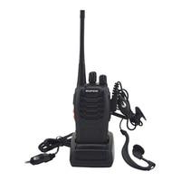 bf 888s שני BF-888S Baofeng טוקי 888s UHF 400-470MHz 16Channel Portable שני הדרך רדיו עם האוזנייה bf888s משדר (2)