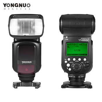 YONGNUO YN968N YN968C TTL Wireless Camera Flash Speedlite For Nikon D5600 D7100 For Canon 650D 100D 1100D Flash Speedlite - Category 🛒 Consumer Electronics