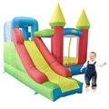 YARD Крытый Мини Жилых Надувной Батут с Горкой Прыжки Дом для Детей DHL Бесплатная Доставка