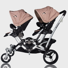 Luxury Twins Baby Stroller Cart High Landscape Baby Buggy Light Children Four Round of Baby Trolley Can Be Sitting Lying(China)