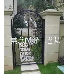 Spéciale portes en fer forgé, Fer forgé portes de jardin jardin ...
