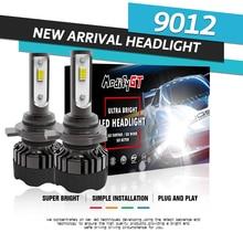 Modifygt 3 color changing 5 modes H4 led H7 led H8/H9/H11 9005/HB3 9006/HB4 Headlight 3000K 4300K 6000K 8000Lm 50W 12V 24V