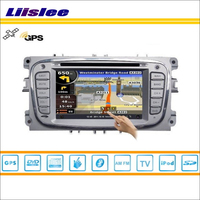 Liislee For Ford S Max 2008~2011 Car Radio Audio Video Stereo CD DVD Player GPS Nav Navi Map Navigation S160 Multimedia System
