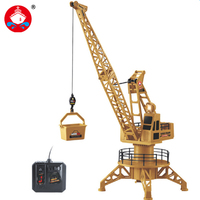 Wire Control RC Crane Tower RC Truck Fork Lift Construction Vehicle Playset Model Toys 360 Degree