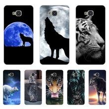 ФОТО for bq aquaris u2 lite case,silicon wolf beast painting soft tpu back cover for bq aquaris u2 protect phone cases shell