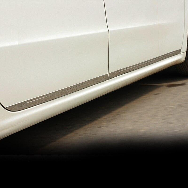 car accessories chromium parts door modified decorative bright sequins modification trim strip FOR Peugeot 508