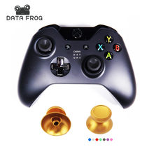 Data Frog for XBOX ONE Aluminium Metallic Metal Thumbsticks Alloy Joystick Aluminium Metal Thumbs for Xbox one S Controller(China)