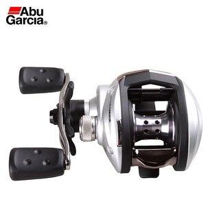 Image 2 - Abu Garcia SMAX3 Bait Casting Fishing Reel Left Right Hand 6.4:1 Max Drag 8KG High Speed Baitcasting Reel for Saltwater Fishing