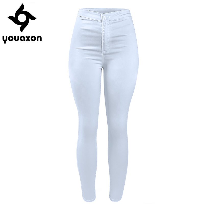 Online Get Cheap White Stretch Skinny Jeans -Aliexpress.com ...
