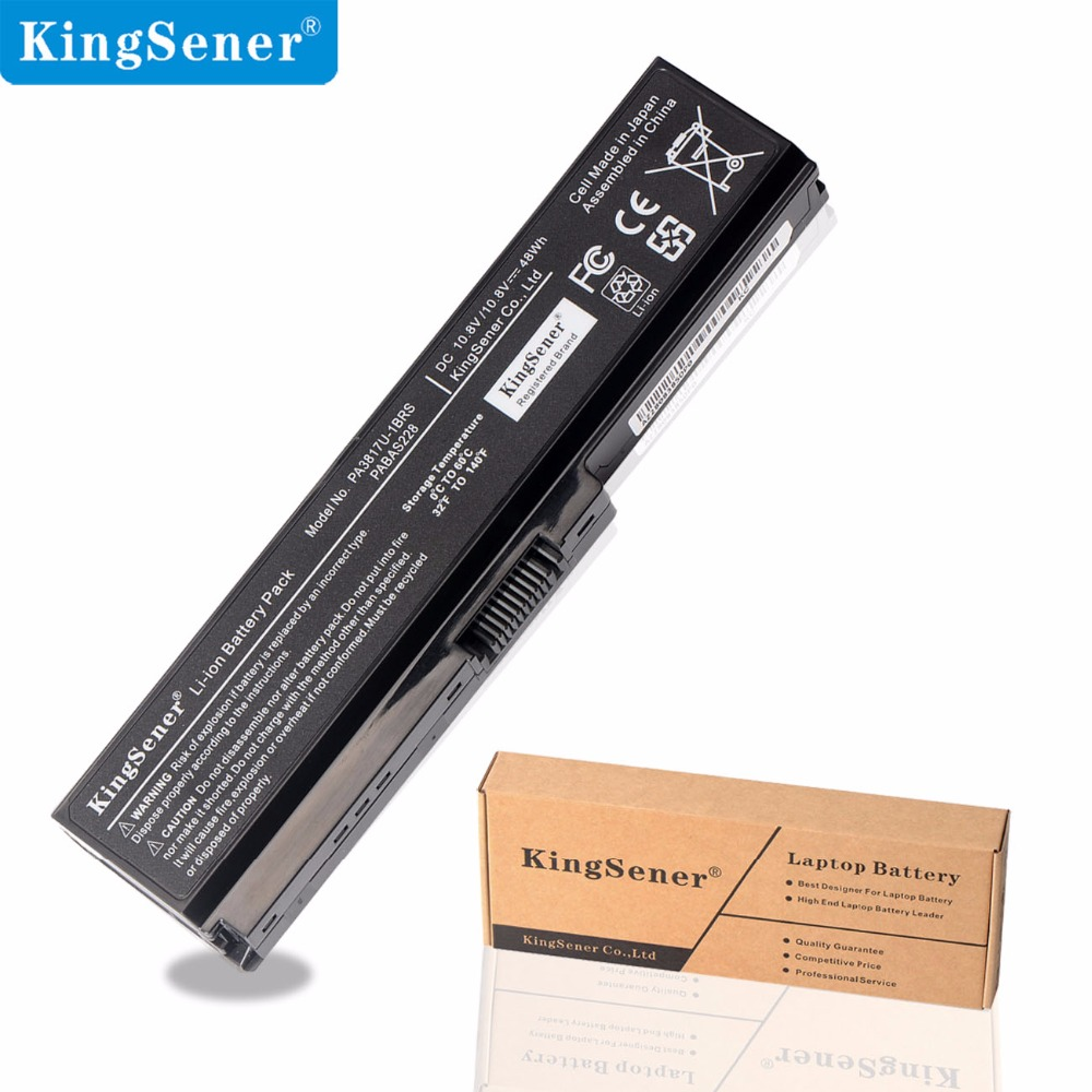 KingSener PA3817U-1BRS Laptop Battery For Toshiba Satellite A660 C640 C600 C650 C655 C660 L510 L630 L640 L650 L670 L770 U400