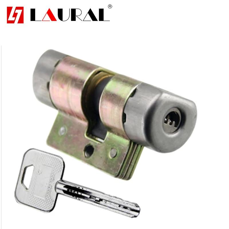 Security Door Lock Core AFS Security Vintage Entrance Exterior Door Lock Cylinder  Pull Handle Lock Body Universal
