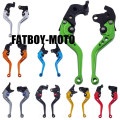 CNC Clutch Brake Levers For Kawasaki Z750 Z 750 2007-2011 2010 2009 2008