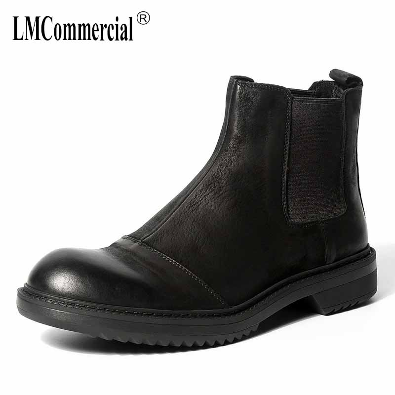 Здесь можно купить  autumn winter British retro men shoes all-match cowhide breathable fashion Martin boots Genuine Leather men