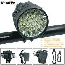 WasaFire 40000lm Bike Light 16*XML-T6 LED lamp 3 Modes Bicycle
