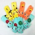 Pikachu para Niños Cinturón De Seguridad Del Asiento de Felpa cubierta del cinturón de seguridad del Amortiguador Del arnés Hombrera Coche
