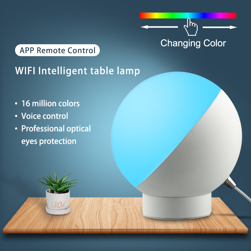 Lumière d'ambiance à LED couleurs changer amour rose multicolore lampe couleur vivant maison porte lumière Multi couleur Wifi intelligent veilleuse minuterie 12 W