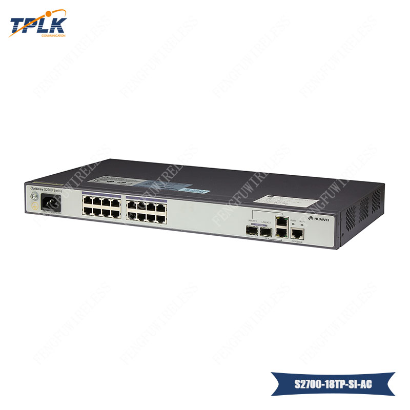 Cellphones & Telecommunications Original Hua Wei 16port Gigabit Ethernet Switches S2700-18tp-si-ac Communication Equipments Using Cutting-edge Switching Technology
