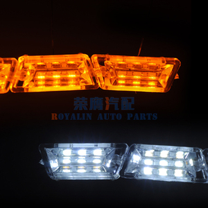 Image 5 - ROYALIN Car Headlights LED Strips DRL Motorcycle Flexible Switchback Tape Knight Rider Sequential Turn Signal Lights Soft Tube