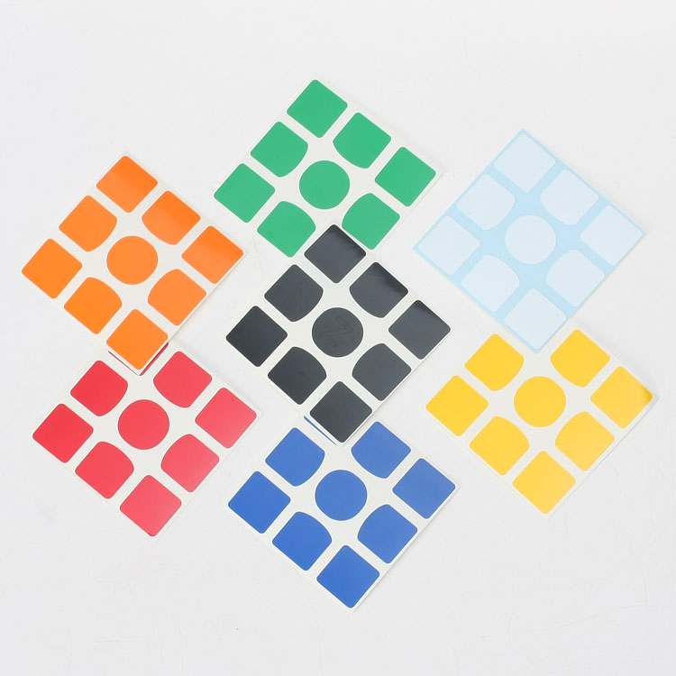 ZCUBE Hot Selling 4pcs Z Sticker DIY PVC 56mm Can Used On Gan 356 Air SM 356 X 3x3x3 Magnetic Magic Cube Puzzle Educational Toys