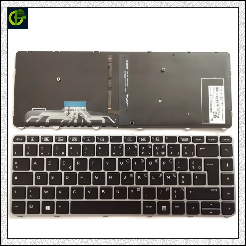New Original French Azerty Backlit Keyboard for HP EliteBook Folio 1040 G3 844423-001 818252-001 818252-051 laptop FRNew Original French Azerty Backlit Keyboard for HP EliteBook Folio 1040 G3 844423-001 818252-001 818252-051 laptop FR