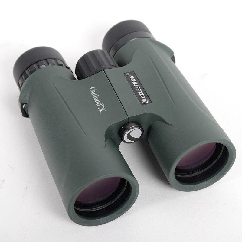 Celestron jumelles télescope Outland X 8*42 Étanche une visualisation portable Le film multicouche vert optique revêtement jumelles