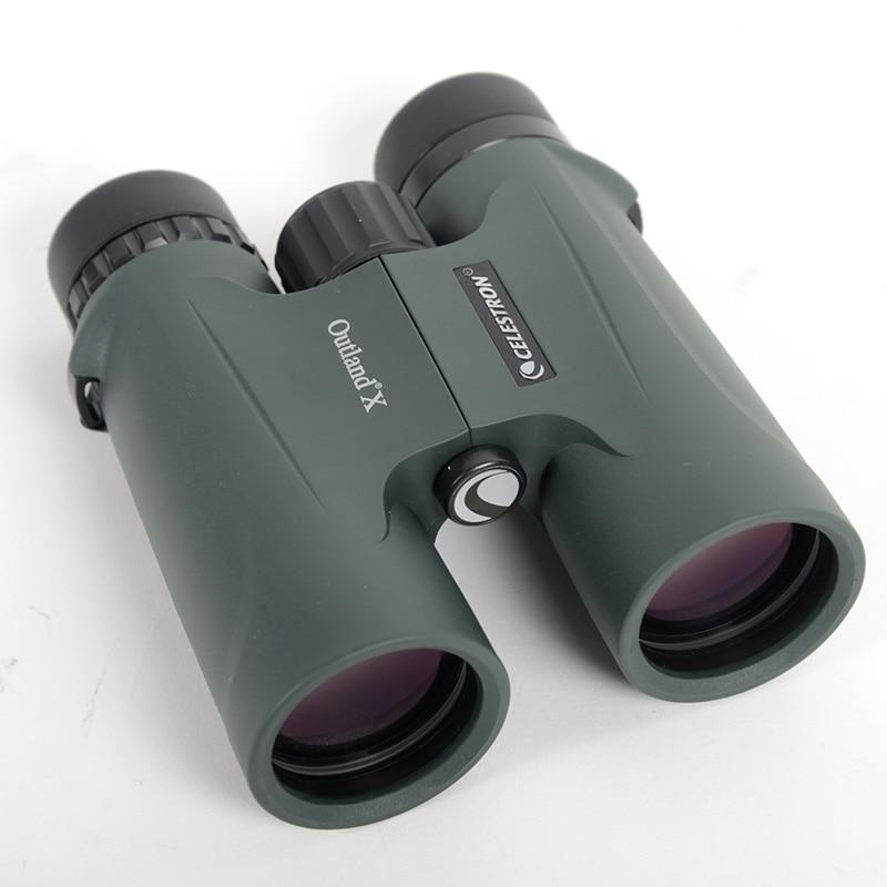 Celestron  telescope Outland X 8X42 10X42 Waterproof portable viewing The multilayer film green optical coating binoculars