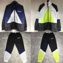 19ss Vetements Stitching Jackets Men Women Suit Windbreaker Coats Sport Streetwear Bomber
