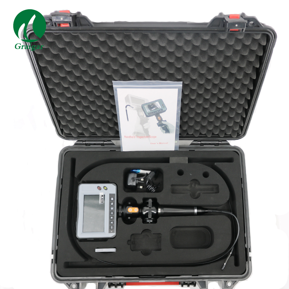 New DR4540F Portable Waterproof 4.3'' LCD Industry Video Borescope 4-Way OD 4.0mm Snake Inspection Camera Endoscope