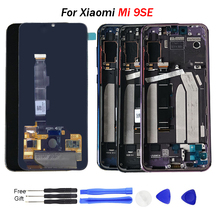 Original Mi 9SE LCD Screen with frame 5.97 INCH AMOLED Touch Screen Digitizer Assembly For Xiao mi MI 9SE Display Touch Panel new and original mi lcd panel