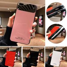 VR VAVA Plain Hard Case For iPhone 8 7 Plus X XS XR Xs Max Cases Makeup Mirror Phone Cover Fashion Women 6