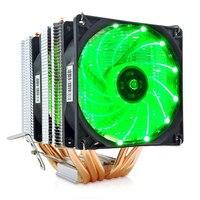 For AM3 LGA 1151 1155 1366 CPU Radiator 6 Copper Tube Super Quiet Desktop Computer 9cm