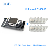 100% New F160010 Unlocked Printhead DX5 Print Head For Epson 7800 7880 9800 9880 4400 4800 4880 9400 R1800 R1900 R2000 R2400