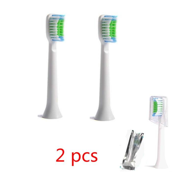 2pcs Replacement Toothbrush Heads for Philips Sonicare ProResults HX6013/66 HX6930 HX9340 HX6950 HX6710 HX9140 HX6530 16pcs lot replacement toothbrush heads for philips sonicare proresults hx6014 hx9332 hx6930 hx9340 hx6950 hx6710 hx9140 hx6530
