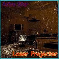 Astrostar Astro Star Laser Projector Cosmos Light Lamp Starry Sky Diascope