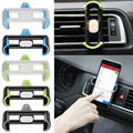 Universal Car Air Vent Phone Holder Mount Support For Samsung Galaxy S6 S7 Edge For Iphone 5 5S 6 Plus Cell Phone